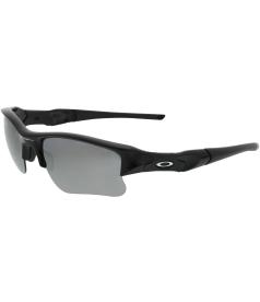 Oakley Men's Gradient Flak Jacket XLJ 03-915 Black Wrap Sunglasses