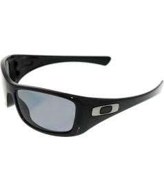 Oakley Men's Polarized Hijinx 12-940 Black Rectangle Sunglasses