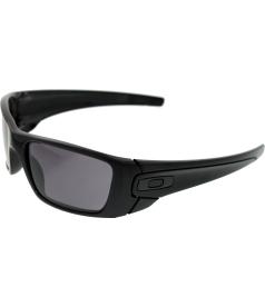 Oakley Men's Fuel Cell OO9096-01 Black Rectangle Sunglasses