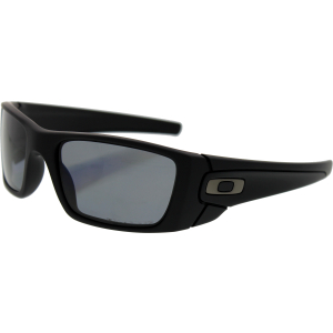 Oakley Men's Mirrored Fuel Cell OO9096-05 Black Rectangle Sunglasses