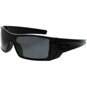 Oakley Men's Polarized Batwolf OO9101-05 Grey Shield Sunglasses