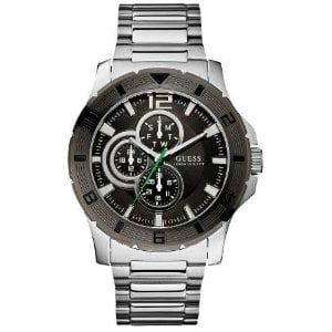 Guess Men's U12644G1 Black Stainless-Steel Quartz Watch