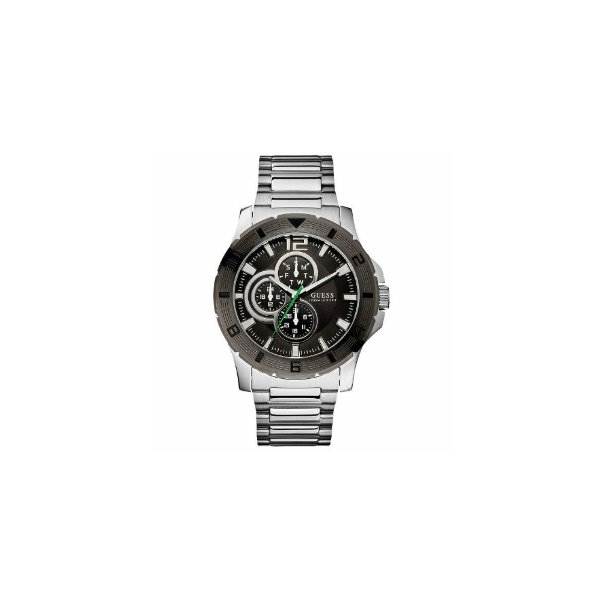 Guess Men's U12644G1 Black Stainless-Steel Quartz Watch