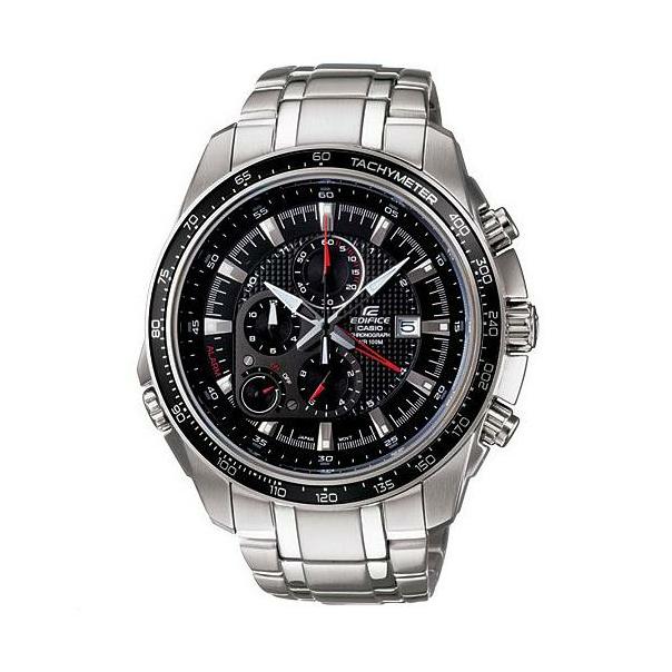 Casio Men's Edifice EF545D-1AV Black Stainless-Steel Quartz Watch