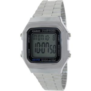 Casio Men's Core A178WA-1A Grey Stainless-Steel Quartz Watch