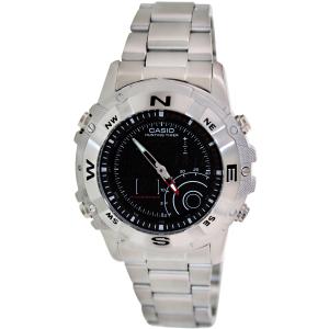 Casio Men's Core AMW705D-1AV Silver Stainless-Steel Quartz Watch