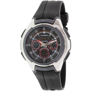 Casio Men's Core AQ163W-1B2V Black Resin Quartz Watch