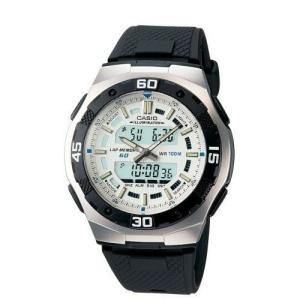 Casio Men's Core AQ164W-7AV Black Resin Quartz Watch