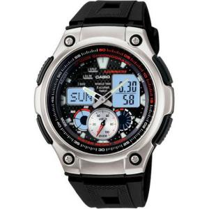 Casio Men's Core AQ190W-1AV Black Resin Quartz Watch