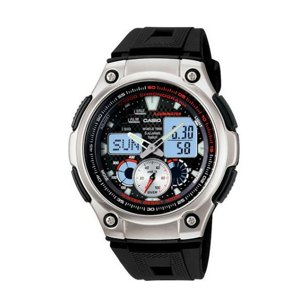 Casio Men's Core Watch AQ190W-1AV - Main Image