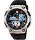 Casio Men's Core AQ190W-1AV Black Resin Quartz Watch - Main Image Swatch