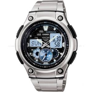 Casio Men's Core AQ190WD-1AV Black Stainless-Steel Quartz Watch