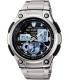 Casio Men's Core AQ190WD-1AV Black Stainless-Steel Quartz Watch - Main Image Swatch