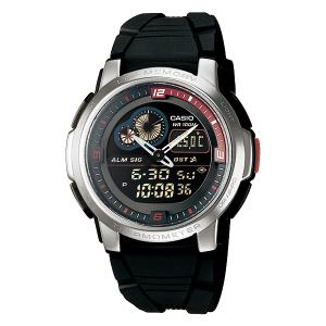 Casio Men's Core AQF102W-1BV Black Resin Quartz Watch