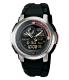 Casio Men's Core AQF102W-1BV Black Resin Quartz Watch - Main Image Swatch