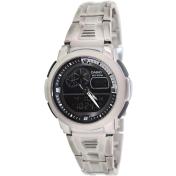 Casio Men's Core AQF102WD-1BV Black Stainless-Steel Quartz Watch