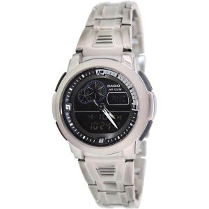 Casio Men's Core AQF102WD-1BV Silver Stainless-Steel Quartz Watch