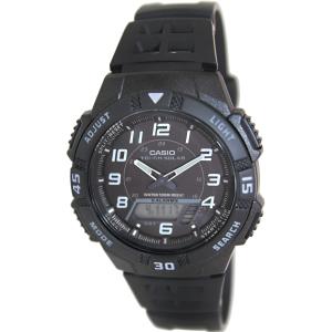 Casio Men's Core AQS800W-1BV Black Resin Quartz Watch