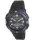 Casio Men's Core AQS800W-1BV Black Resin Quartz Watch - Main Image Swatch