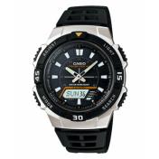 Casio Men's Core AQS800W-1EV Black Resin Quartz Watch