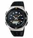 Casio Men's Core AQS800W-1EV Black Resin Quartz Watch - Main Image Swatch