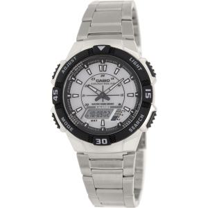 Casio Men's Core AQS800WD-7EV Silver Stainless-Steel Quartz Watch