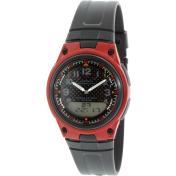 Casio Men's AW80-4BV Black Resin Quartz Watch