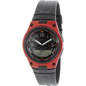 Casio Men's Illuminator AW80-4BV Black Resin Quartz Watch