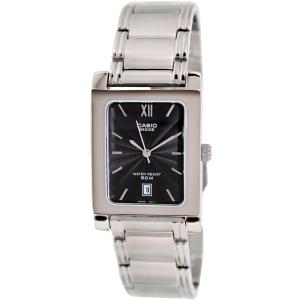 Casio Men's Core BEM100D-1AV Silver Stainless-Steel Quartz Watch