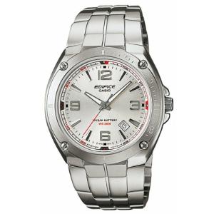 Casio Men's Edifice EF126D-7AV Silver Stainless-Steel Quartz Watch