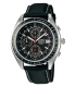 Casio Men's Edifice EF503L-1AV Black Leather Quartz Watch - Main Image Swatch