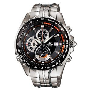 Casio Men's Edifice EF543D-1AV Black Stainless-Steel Quartz Watch