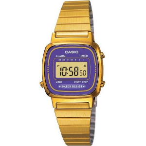 Casio Women's Core LA670WGA-6 Gold Stainless-Steel Quartz Watch