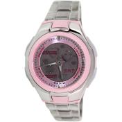 Casio Women's Core LCF10D-4AV Pink Stainless-Steel Quartz Watch