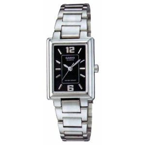 Casio Women's Core LTP1238D-1A Silver Stainless-Steel Quartz Watch