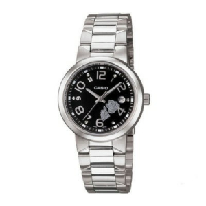 Casio Women's Core LTP1292D-1A Silver Stainless-Steel Quartz Watch