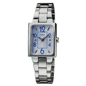 Casio Women's Core LTP1294D-2A Silver Stainless-Steel Quartz Watch