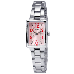 Casio Women's Core LTP1294D-4A Silver Stainless-Steel Quartz Watch