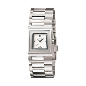 Casio Women's Core LTP1317D-7C Silver Stainless-Steel Quartz Watch