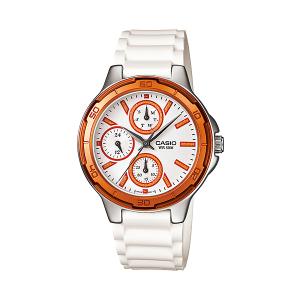 Casio Women's Core LTP1326-4A2V White Resin Quartz Watch
