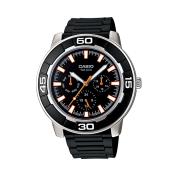Casio Men's Core LTP1327-1EV Black Resin Quartz Watch