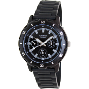 Casio Women's Core LTP1328-1EV Black Resin Quartz Watch
