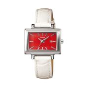 Casio Women's Core LTP1332L-7A Red Leather Quartz Watch