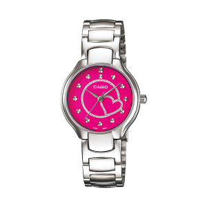 Casio Women's Core LTP1337D-4A Silver Stainless-Steel Quartz Watch
