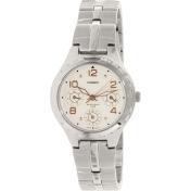 Casio Women's Core LTP2064A-7A3V Beige Stainless-Steel Quartz Watch
