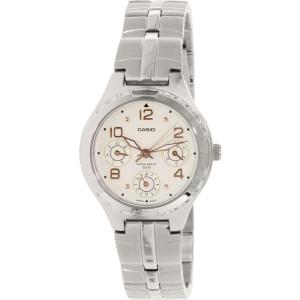 Casio Women's Core LTP2064A-7A3V Silver Stainless-Steel Quartz Watch