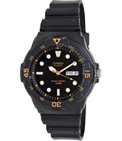Casio Men's Core MRW200H-1EV Black Resin Analog Quartz Watch