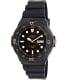Casio Men's Core MRW200H-1EV Black Resin Analog Quartz Watch - Main Image Swatch