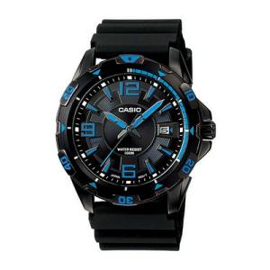 Casio Men's Core MTD1065B-1A1V Black Rubber Quartz Watch