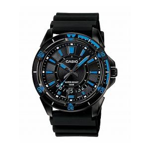 Casio Men's Core MTD1066B-1A1V Black Rubber Quartz Watch